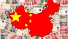 Map of China on Yuan