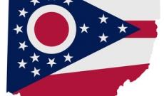 Ohio flag and state