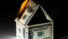 Burning House Made of Money