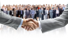 business deal and handshake