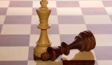 defeated king in chess