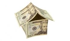 house made of twenty dollar bills