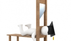 Student in Guillotine