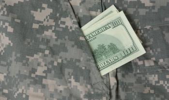 Money military pockets