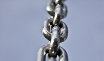 Strong steel chains
