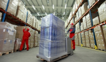 manufacturing workers in a warehouse
