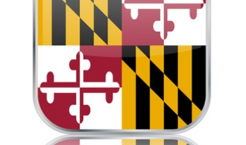 maryland state flag app button